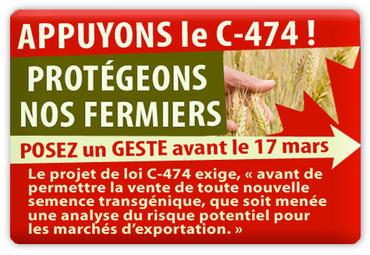 Passez à l'action contre les OGM avec le RCAB