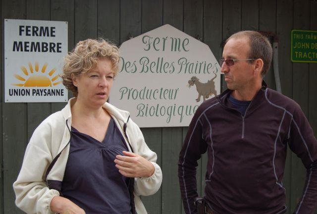Suzanne Dufresne et Daniel Gosselin
