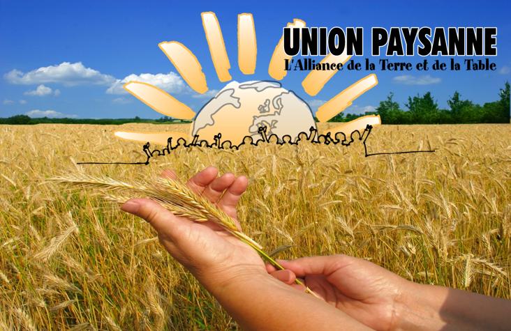 Congrès de l'Union paysanne en février 2015