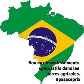 Fonds de pension et accaparement des terres au Brésil