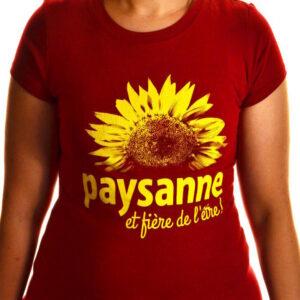 T-shirt Paysanne